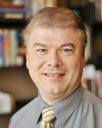 Dr. Kevin Warstler, Associate Professor of Hebrew and Old Testament, and Program Director of A.A. and B.A. in Biblical Studies